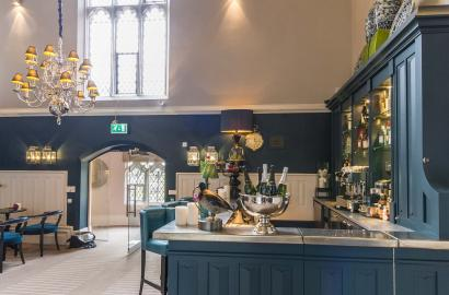 Bar at Binswood Hall, Leamington Spa